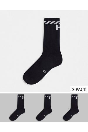 Helly Hansen 3 pack logo socks in