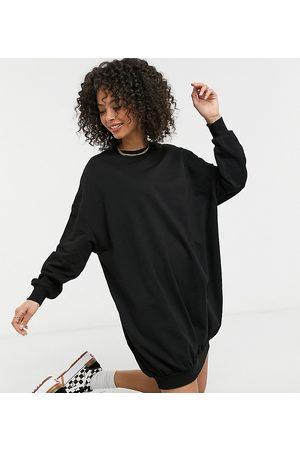 ASOS ASOS DESIGN Tall oversized sweat dress in