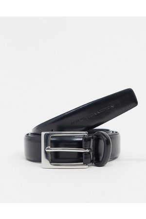 French Connection Classic leather belt in