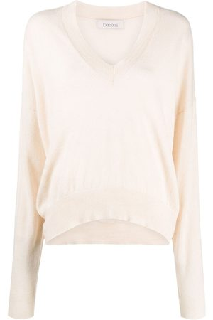 LANEUS Long-sleeve knit jumper
