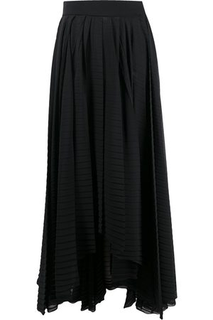 Msgm Handkerchief-hem pleated skirt