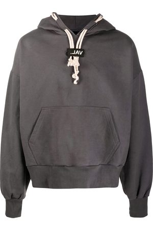 VAL KRISTOPHER Oversized cotton hoodie