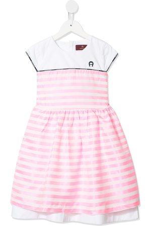 Aigner Stripe print dress