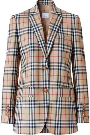 Burberry Vintage Check blazer jacket