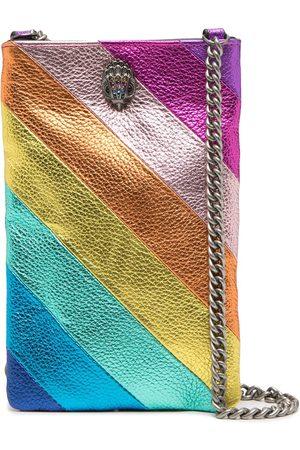 Kurt Geiger Striped phone pouch