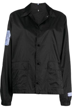 McQ Slogan print sport jacket