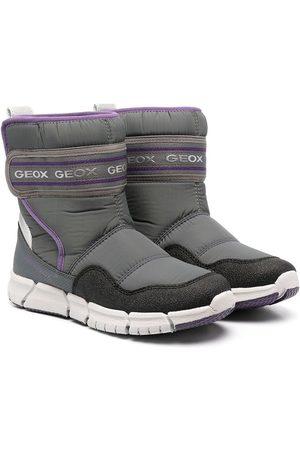 Geox Logo print snow boots