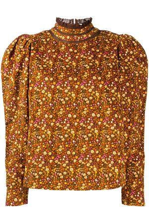 by Ti Mo Floral print blouse
