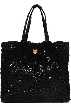 Dolce & Gabbana Large Beatrice lace tote