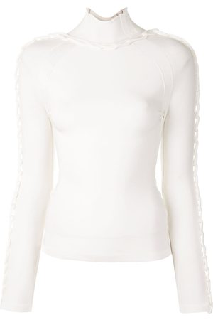 DION LEE Braided chain-embellished jumper