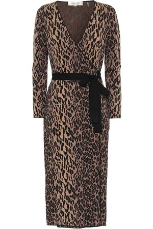 Diane von Furstenberg Damaris knit wrap dress