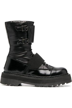 Premiata Buckled platform boots