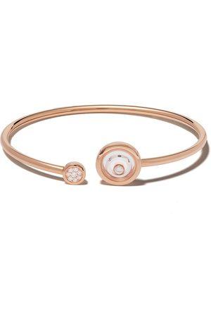 Chopard 18kt rose and white gold diamond Happy Spirit bracelet