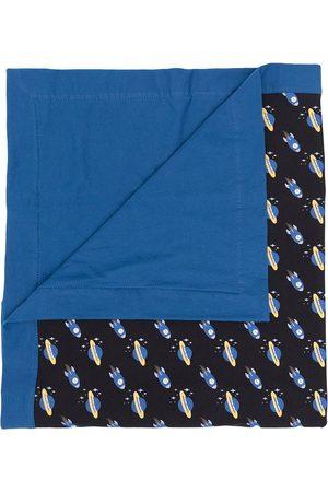 Emporio Armani Space-print baby blanket