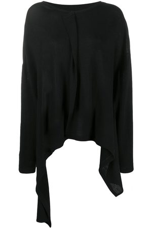 YOHJI YAMAMOTO Long-sleeved draped top