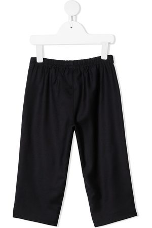 Gucci Web stripe wool trousers