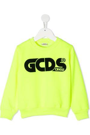 GCDS Long-sleeved logo print jumper