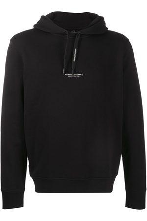 Armani Logo-print drawstring hoodie