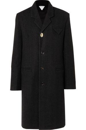 Bottega Veneta Herringbone Wool-Blend Coat