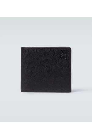 Loewe Bifold grained leather wallet