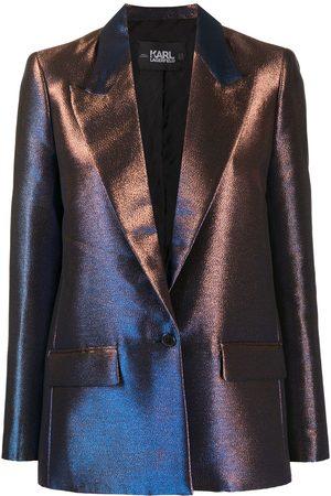 Karl Lagerfeld Iridescent blazer