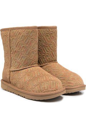 UGG Classic II Graphic Stitch boots