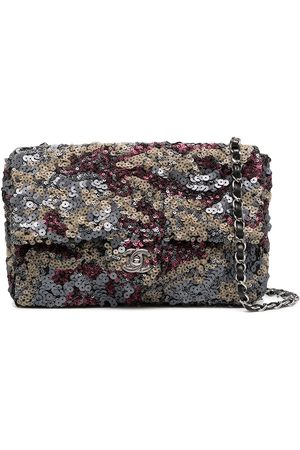 CHANEL Classique sequinned shoulder bag