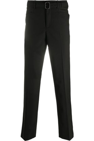 Neil Barrett Belted slim-fit trousers