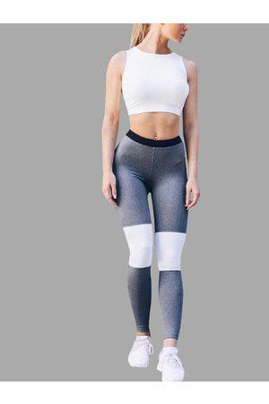 YOINS Contrast Color Bodycon Yoga Leggings