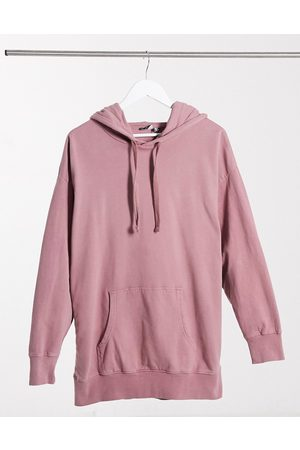 ASOS Oversized panelled hoodie in washed