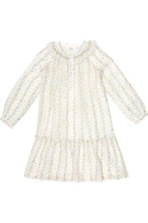 BONPOINT Girls Printed Dresses - Paradis floral silk-blend dress