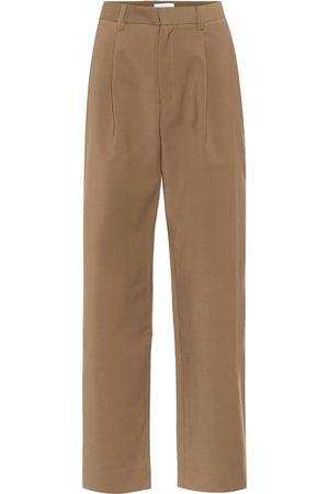 Deveaux New York Nicola high-rise straight pants