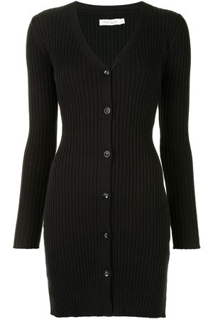 Anna Quan Ribbed knit fitted dress