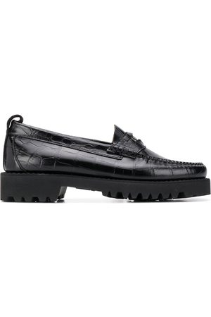 Karl Lagerfeld Exotic chunky penny loafers
