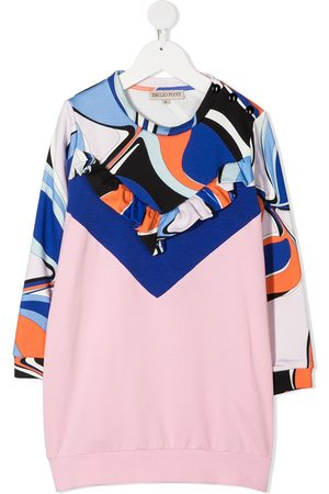 Emilio Pucci Abstract-print sweatshirt dress