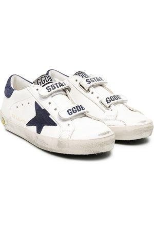 Golden Goose Superstar distressed detail sneakers