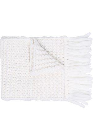Fendi Logo-embroidered oversize scarf