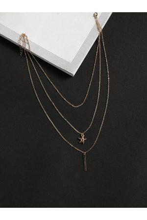 YOINS Color Starfish Rod-shape Multi-layer Necklace