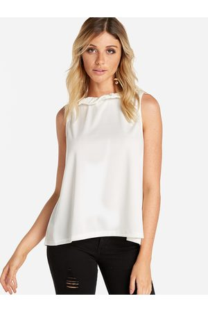 YOINS Self-tie Design Sleeveless Top