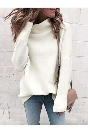 YOINS Women Long Sleeve - High Neck Long Sleeves Sweater