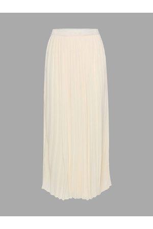 YOINS Chiffon Pleated Maxi Skirt