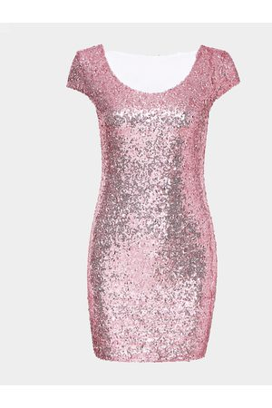 YOINS Women Bodycon Dresses - Packet Buttock Party Dress With Sequin