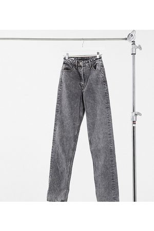 COLLUSION Women Straight - Tall straight leg jeans in washed