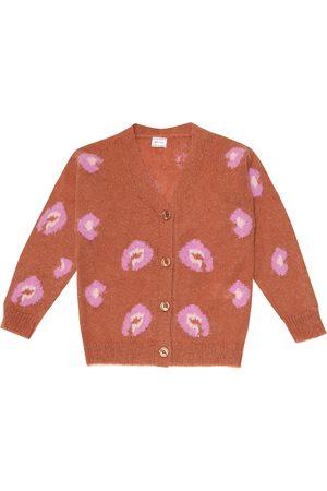 Morley Girls Cardigans - Mia leopard intarsia cardigan