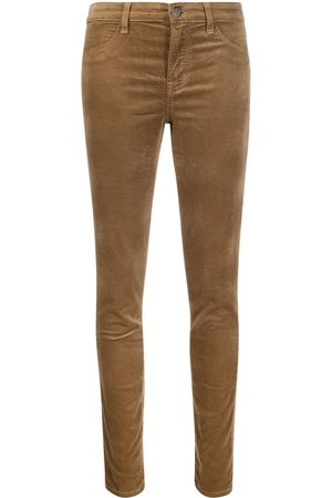 J Brand Cropped slim-fit trousers
