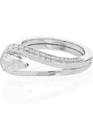 Repossi 18K white gold Serti Inversé diamond ring