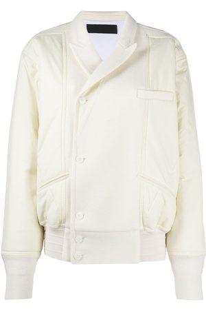Haider Ackermann White bomber jacket