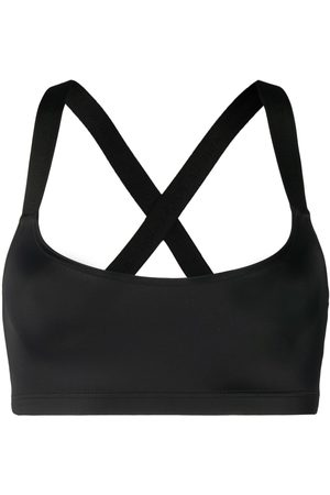 Balmain Embroidered logo sports bra