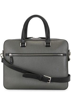 Salvatore Ferragamo Two-tone briefcase