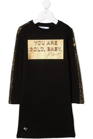 Philipp Plein Embellished jogging day dress